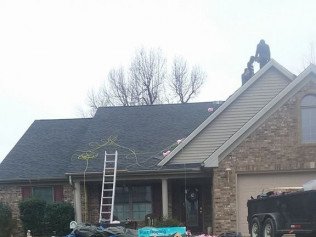 reroof in Owensboro, KY by Ruiz Roofing