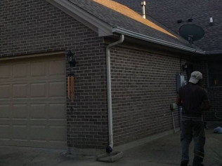 Trust Ruiz Roofing to repair your home's storm damaged roof