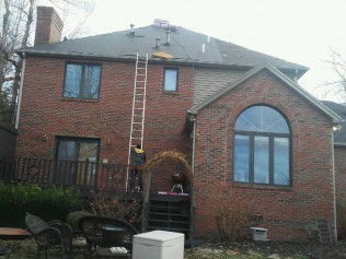Hail and storm damaged roofs get repaired by Ruiz Roofing in Owensboro, KY